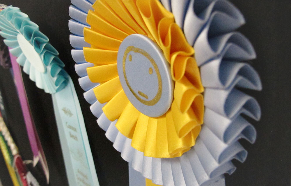 Custom ribbons and rosettes trophy centre for What can you make out of horseshoes